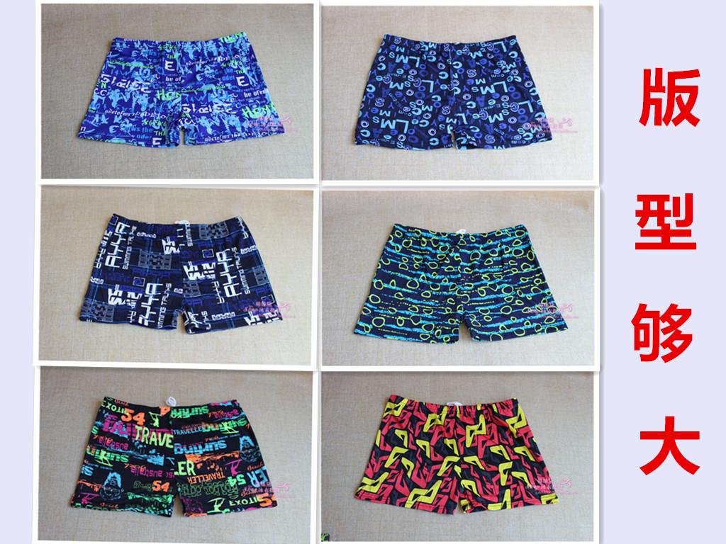 大量批 男士平角泳裤 颜色多 花色 多色可选游泳裤 泳衣 游泳裤