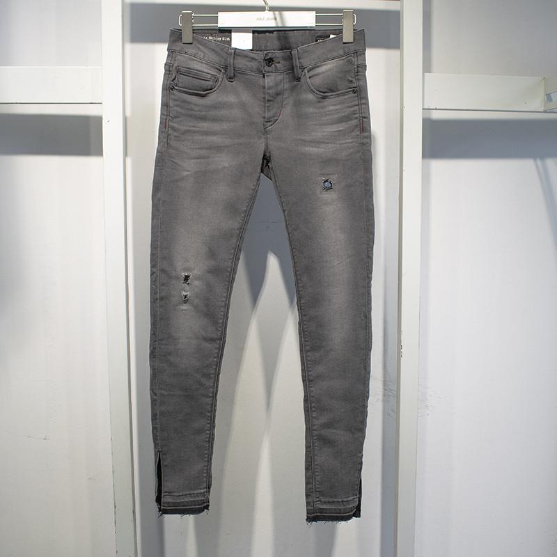 专柜正品ABLE JEANS潮牌女士下装春夏新款超弹修身紧身九分牛仔裤