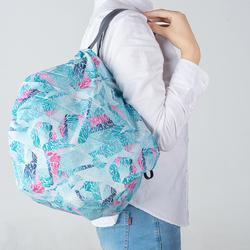 日本購物包女環保大容量春卷風琴包瞬間可折疊便攜輕薄超市購物袋