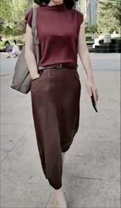 2020夏季新款时尚女装l两件套X 0973