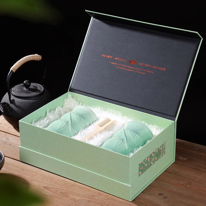 2020 New Tea Huangshan Maofeng Premium Maojian Green Tea Tea High-end 1875 Gift Box Packaging 200g Gift for the Elders