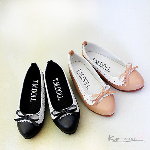 Sweet lady bow head shoes BJD doll shoes (1 4MSD 1 3SD ...