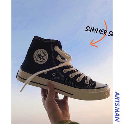 @港仔文艺男透气男韩版潮流小白鞋