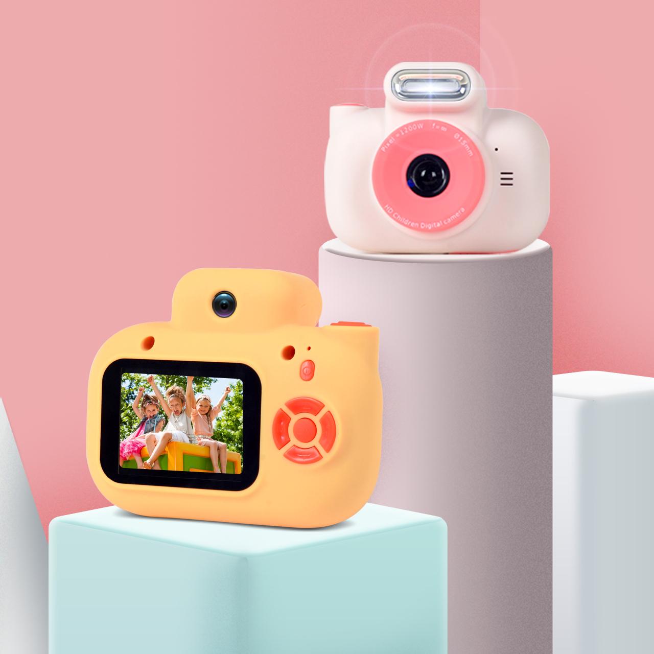 波比熊P3兒童相機玩具可拍照1200萬寶寶高清迷你數碼照相機小單反