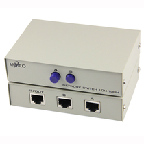 Maxtor dimensional moment mt-rj45-2 network switcher 2 into 1 out of the internal and external network without plugging a point two shareware 2 port