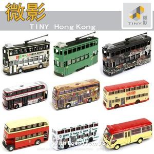 香港 TINY微影合金车车模 电车九巴双层巴士小巴客车 汽车模型
