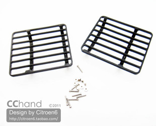 CChand Tamiya RC4WD G2 amp land rover Land Rover Land Rover D90 metal grille headlight