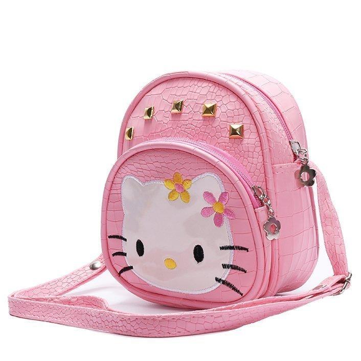 孩子礼物儿童包包女童斜挎包公主包单肩包小孩小包可爱时尚KT猫