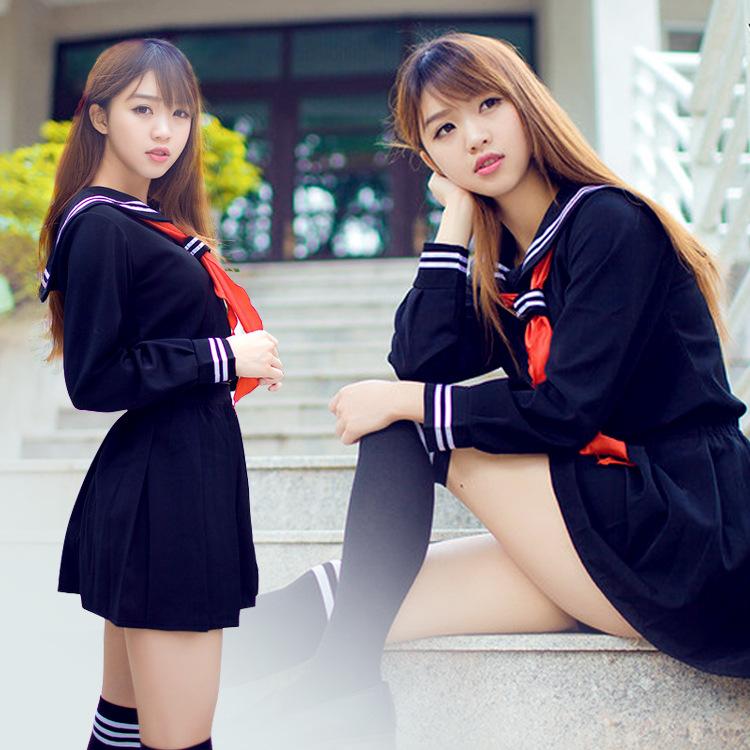 地狱少女cos jk水手服日韩学士服券后37.00元