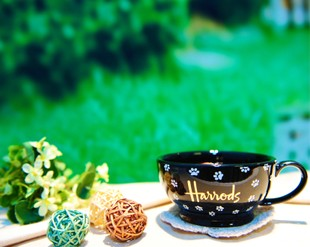 British Foreign Harrods harrods ceramic mug suit couple cups bone china cup coffee cup tea pot tea