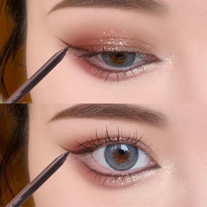 微娅推荐眼线胶防水棕色铅笔眼线笔好用吗