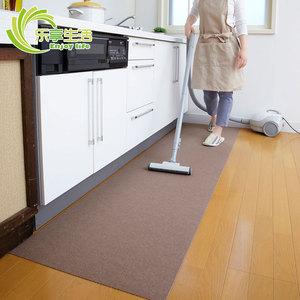 日本进口吸附式厨房防滑防水地垫门厅脚垫客餐厅地毯宝宝爬行垫