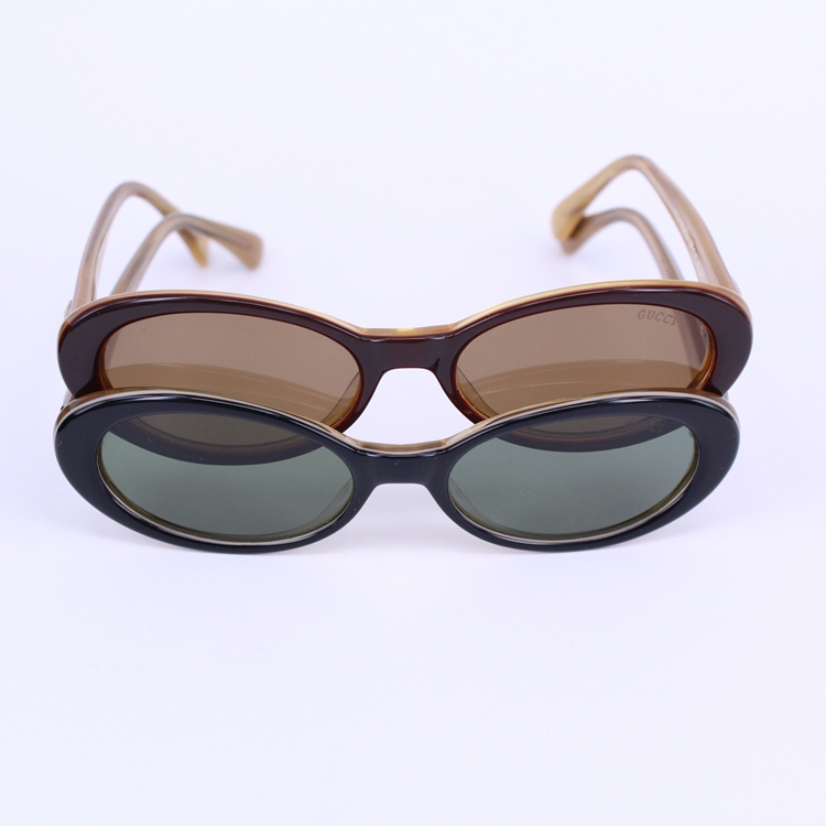 Imported plate frame sunglasses womens Small Frame Sunglasses Womens Retro tide Polarized Sunglasses Baosheng small frame glasses