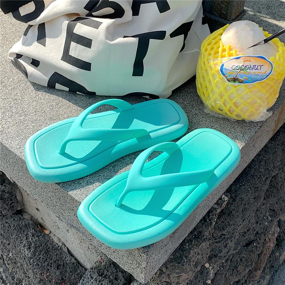 细细条 平底凉拖鞋女夏外穿韩国时尚网红ins人字拖简约夹脚沙滩鞋