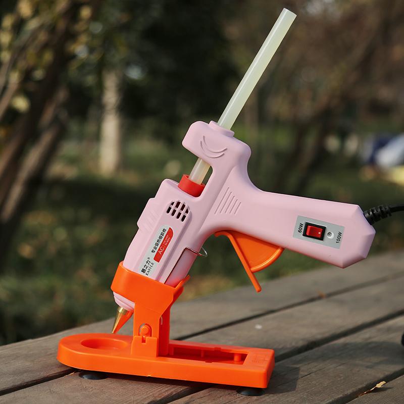易之力手工热熔胶枪 diy热融胶抢胶棒胶条家用热融塑料胶枪小号