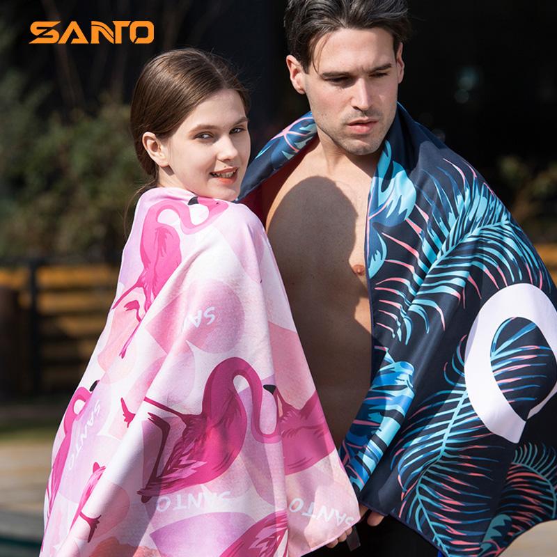山拓游泳沙滩温泉速干吸水旅行浴巾