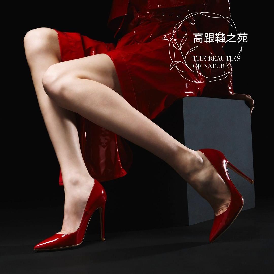 ins超火网红12cm高跟鞋女细跟10cm性感尖头浅口单鞋大码女鞋40-43