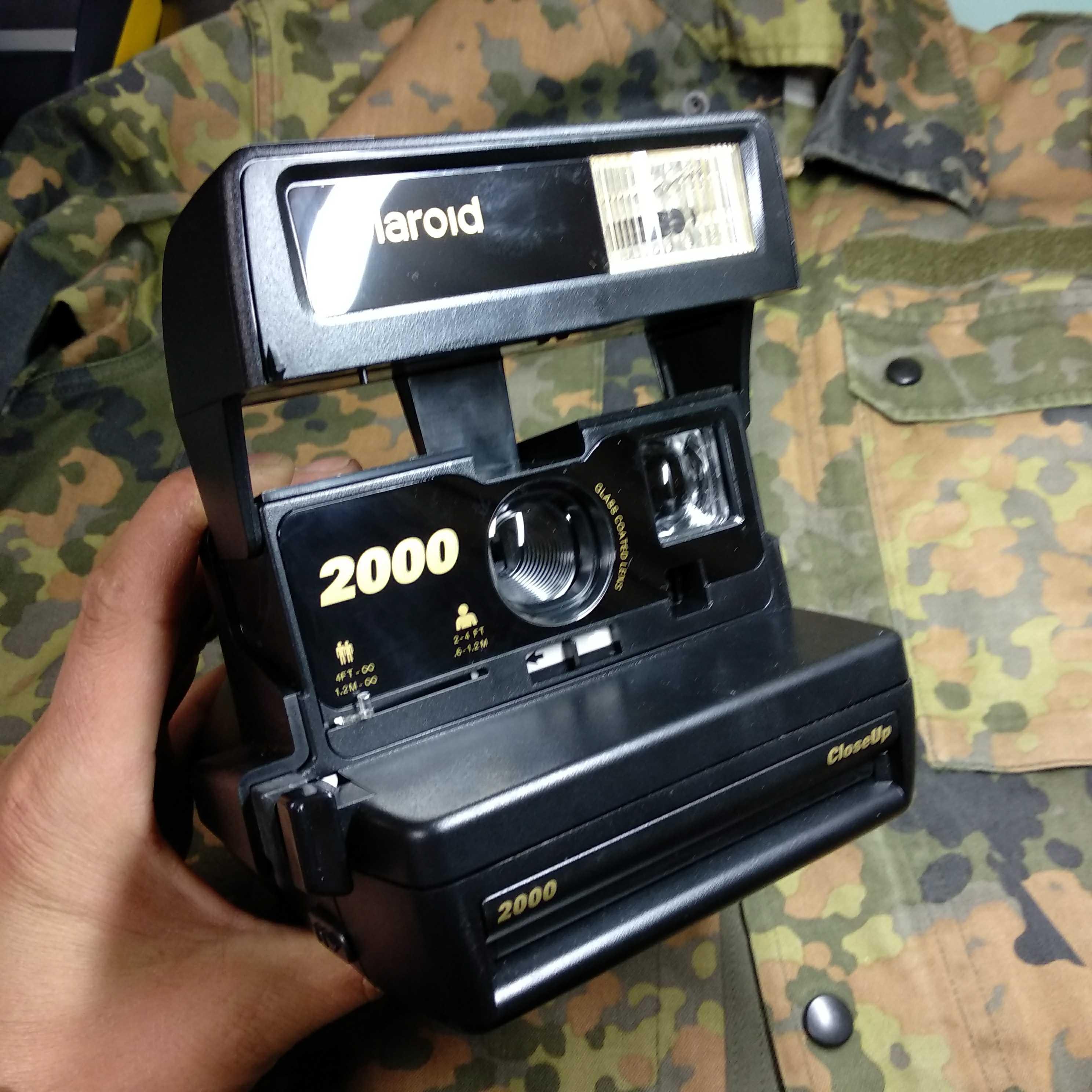 宝丽来新款2000型拍立得相机成色新功能好镜片好编号70410-25新券