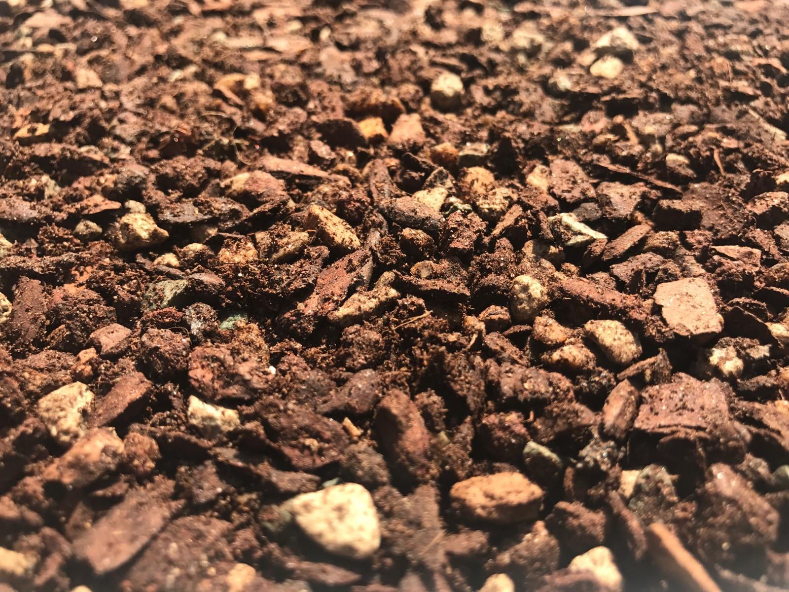 coco多肉館多肉植物専用顆粒土発根控型保色三合一バルコニー3袋郵送します。