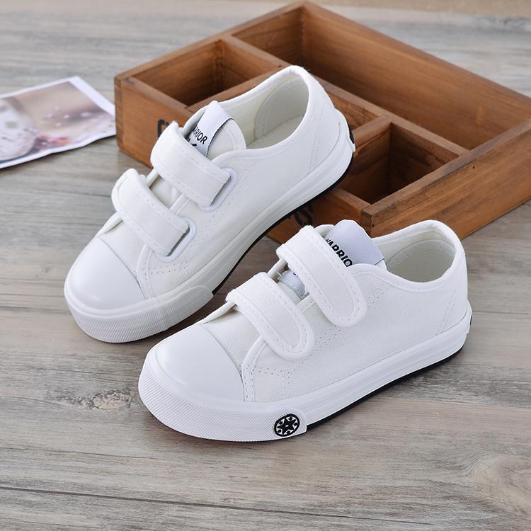 回力童鞋儿童帆布鞋2021秋季男童小白鞋女童布鞋学生运动鞋表演鞋