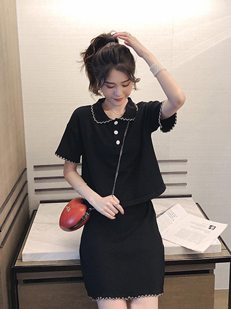 夏季洋气网红套装裙子女气质上衣满155.00元可用100元优惠券