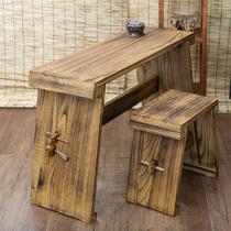 厂价直销桐木共鸣古琴桌凳共鸣古琴桌凳古琴桌七韵古琴