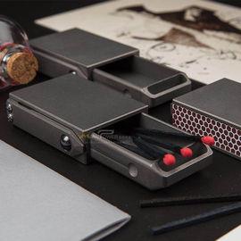 CAJA慢时光手工制作钛合金EDC火柴盒户外金属个性创意储物收纳盒图片