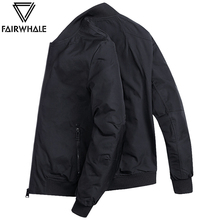 Mark Huafei jacket men's jacket casual spring and autumn 2018 autumn and winter new trend pilot baseball uniform men's clothing
