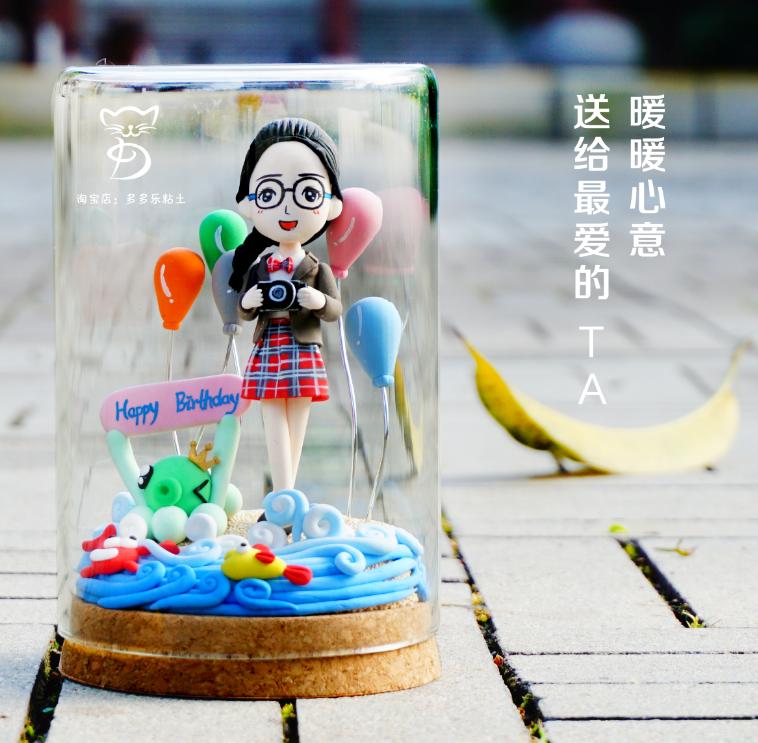 Полимерная глина кукла сделанный на заказ реальность кукла DIY фото грязь человек глина кукла воск так творческий день рождения подарок