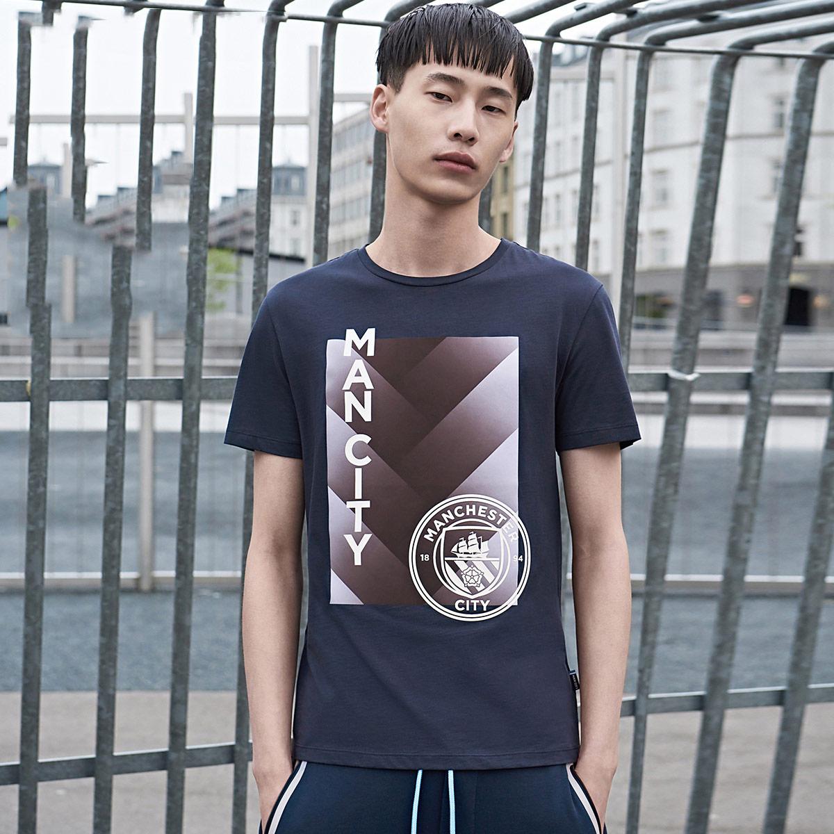 JackJones杰克琼斯足球俱乐部男短袖T恤C 217301542
