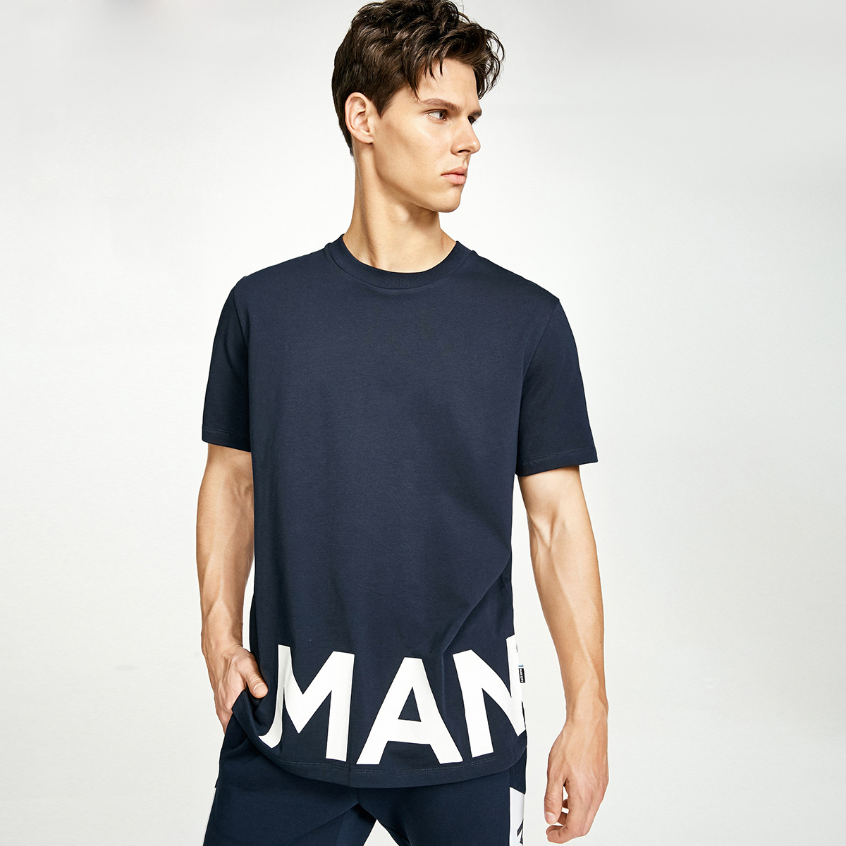 JackJones杰克琼斯足球俱乐部男短袖T恤C|217301549
