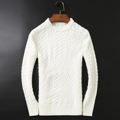 精品D220 9023 冬季男士高领加厚毛衣 P160 黑底图 售价不低于198