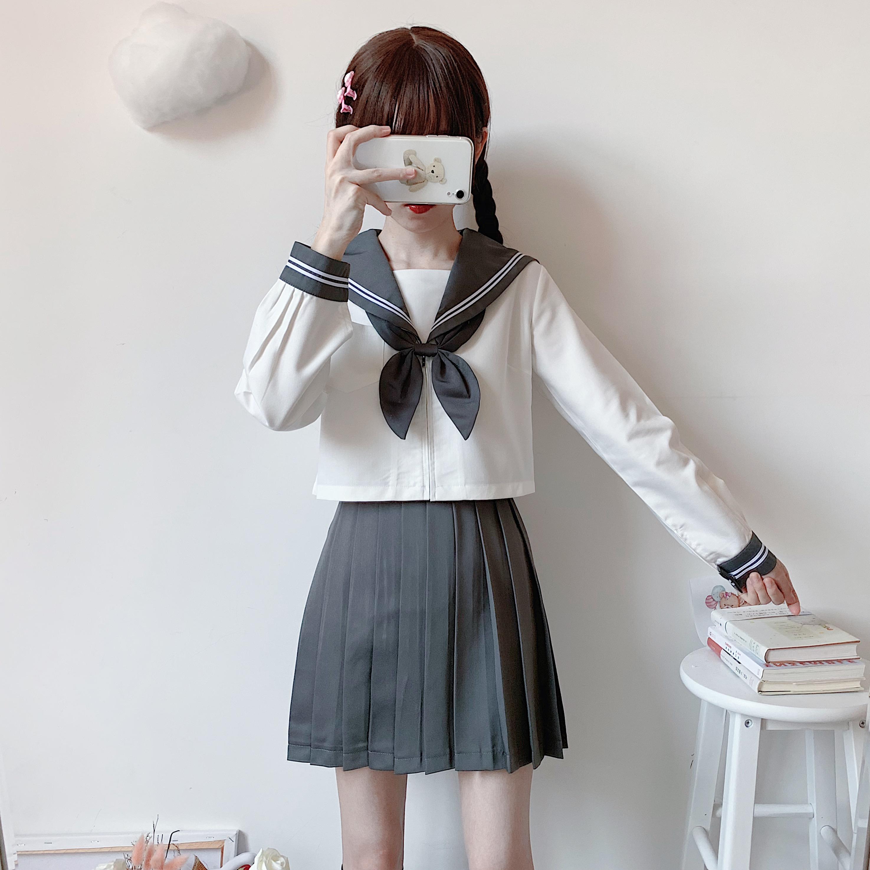 12月02日最新优惠日本jk基础款学院风正统女水手服