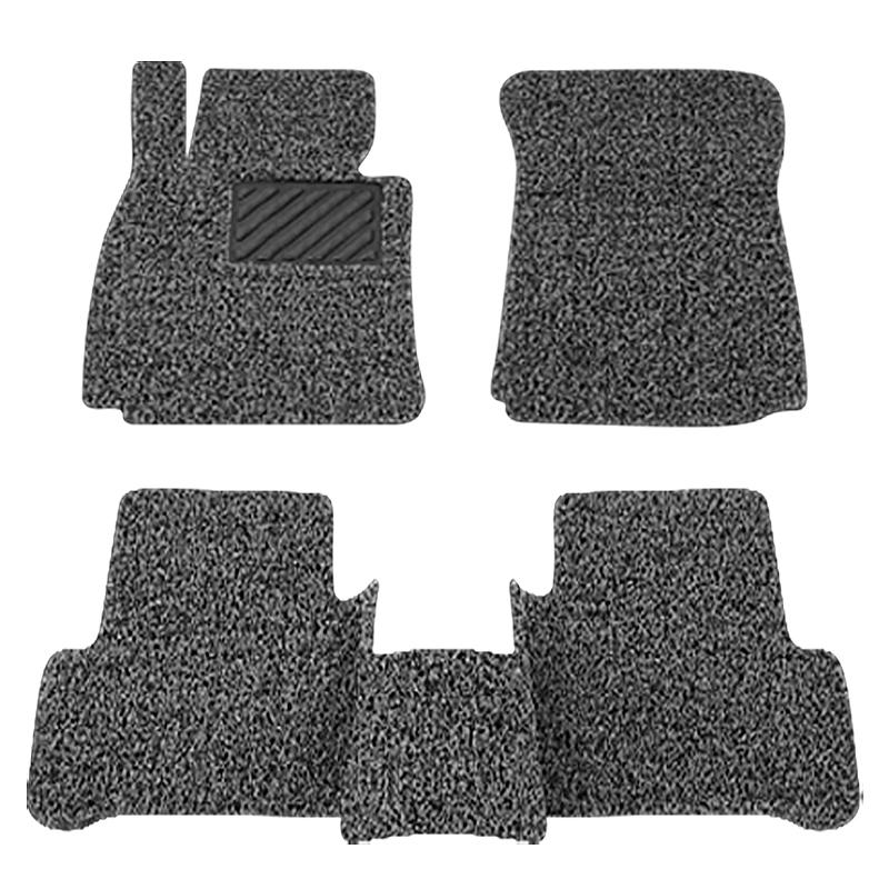 汽车丝圈脚垫通用易清洗经典车垫子地毯式单片可裁剪主副驾驶专用