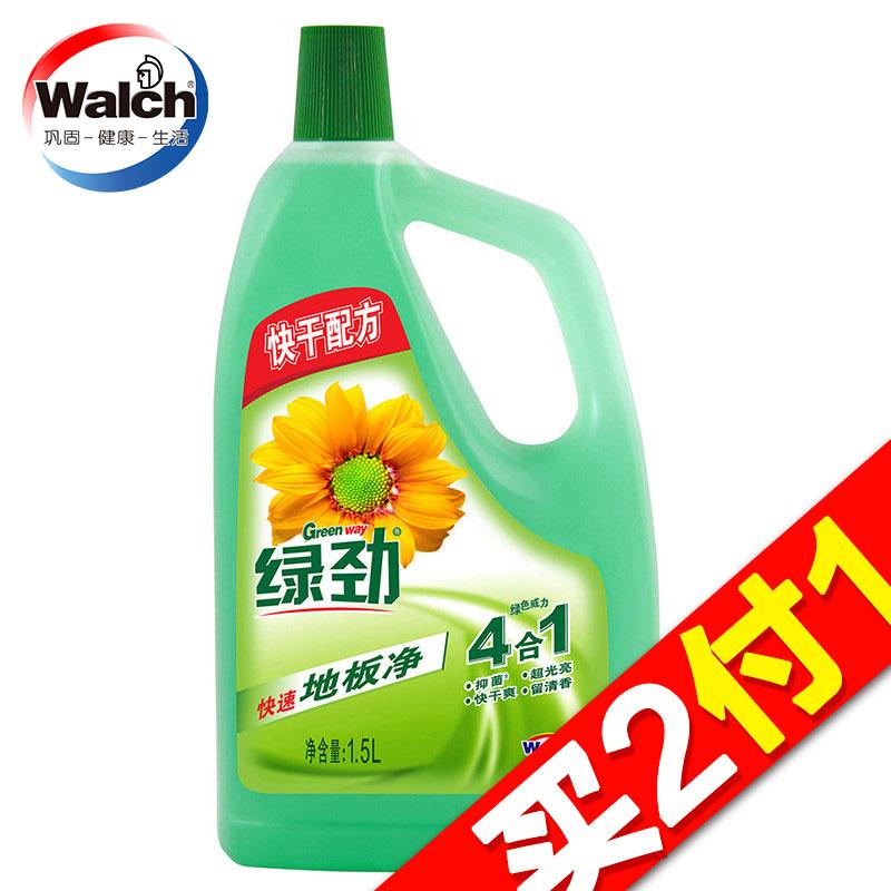 ~天貓超市~威露士威潔士綠勁 快幹配方地板淨清潔劑1.5L