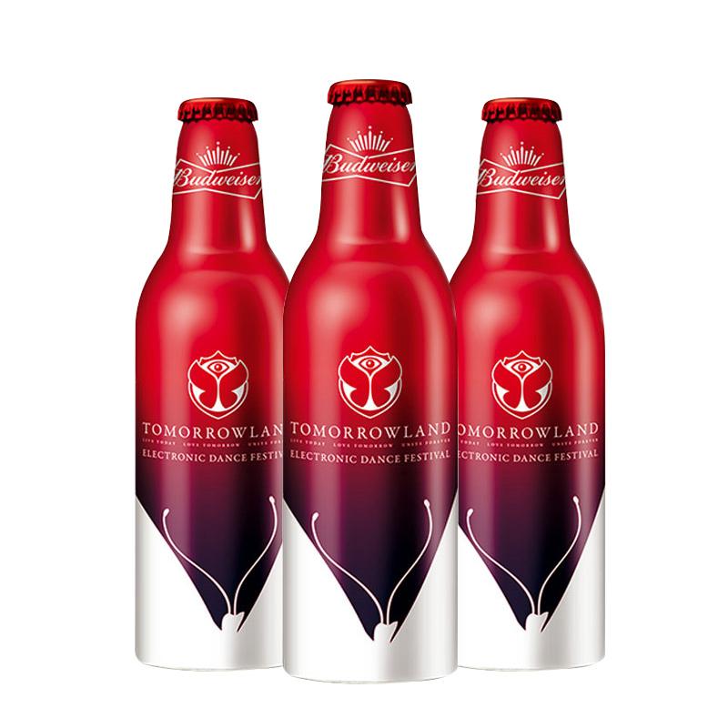 ~天貓超市~Budweiser 百威啤酒 紅瓶鋁罐355ml 瓶^~3 發貨