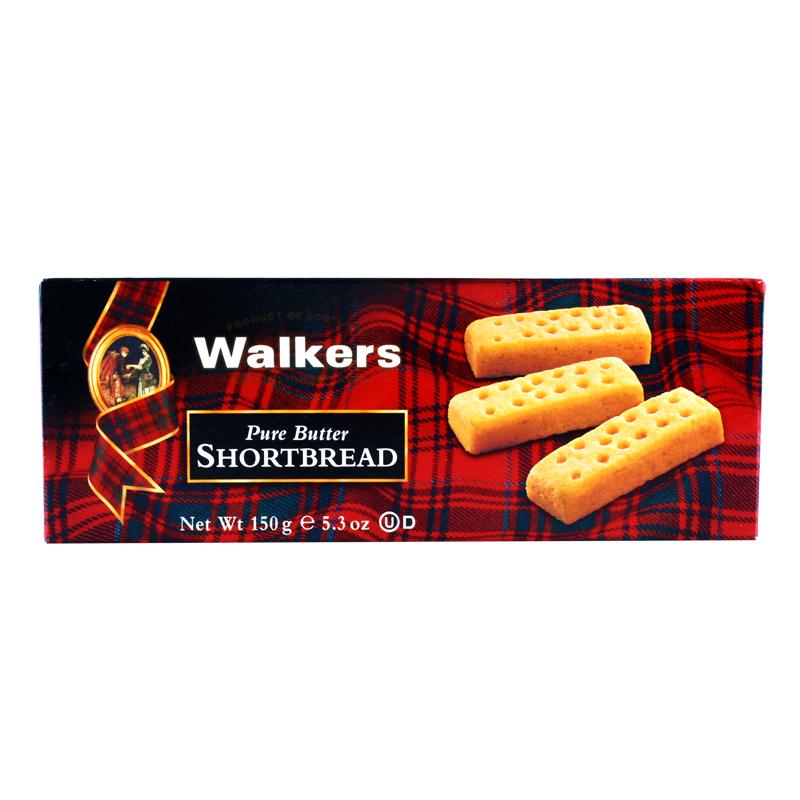 ~天貓超市~英國 沃爾克斯指形黃油酥餅幹150g 盒