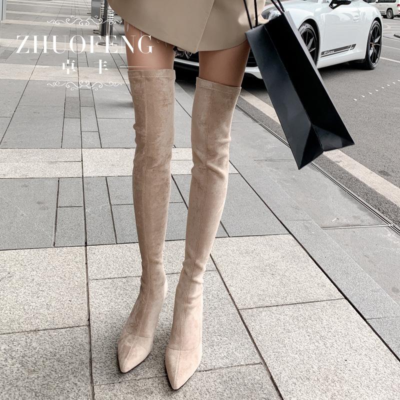 丝维奇娅反绒皮高筒靴质量怎么样呢
