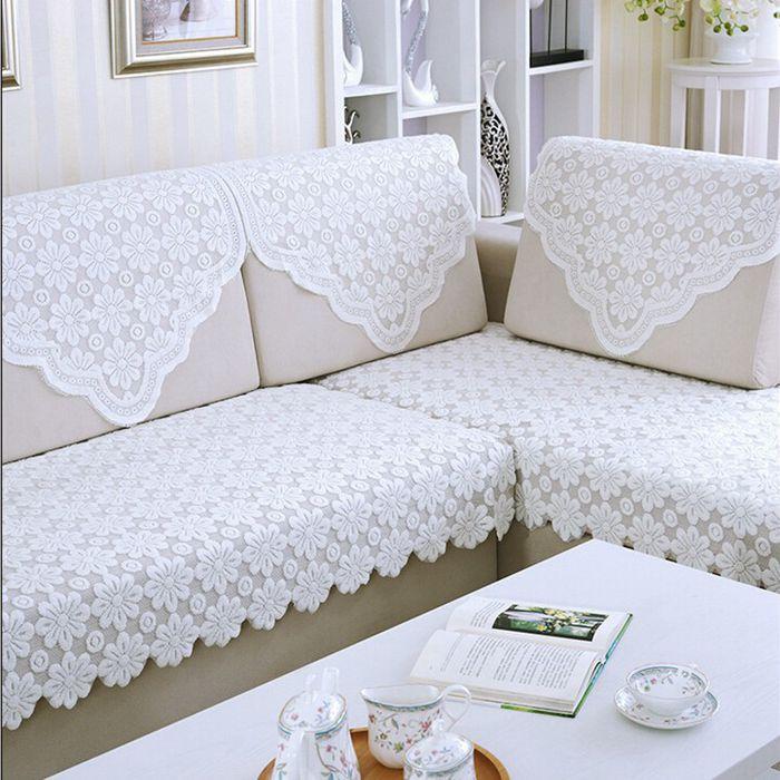 欧式沙发巾蕾丝沙发垫靠背巾扶手巾防滑罩布艺套盖巾四季通用盖布