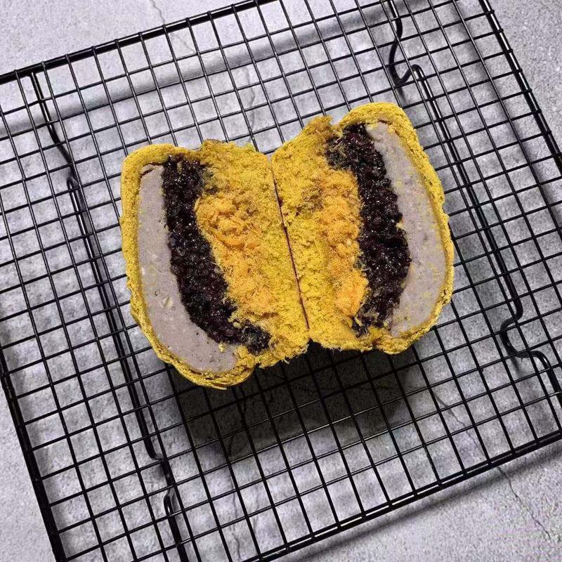 芋泥紫米肉松血糯米欧包无糖无油面皮全麦面包饱腹代餐手工面包11-29新券