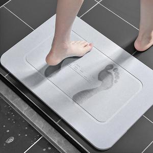 硅藻泥吸水垫卫生间速干厕所防滑垫