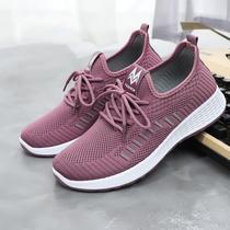老北京布鞋女软底秋季时尚款中年妈妈鞋舒适轻便女士运动单鞋防滑