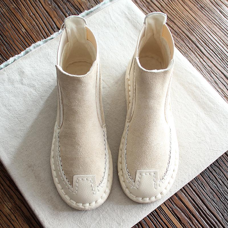 包邮手工原创软底平底休闲文艺女鞋