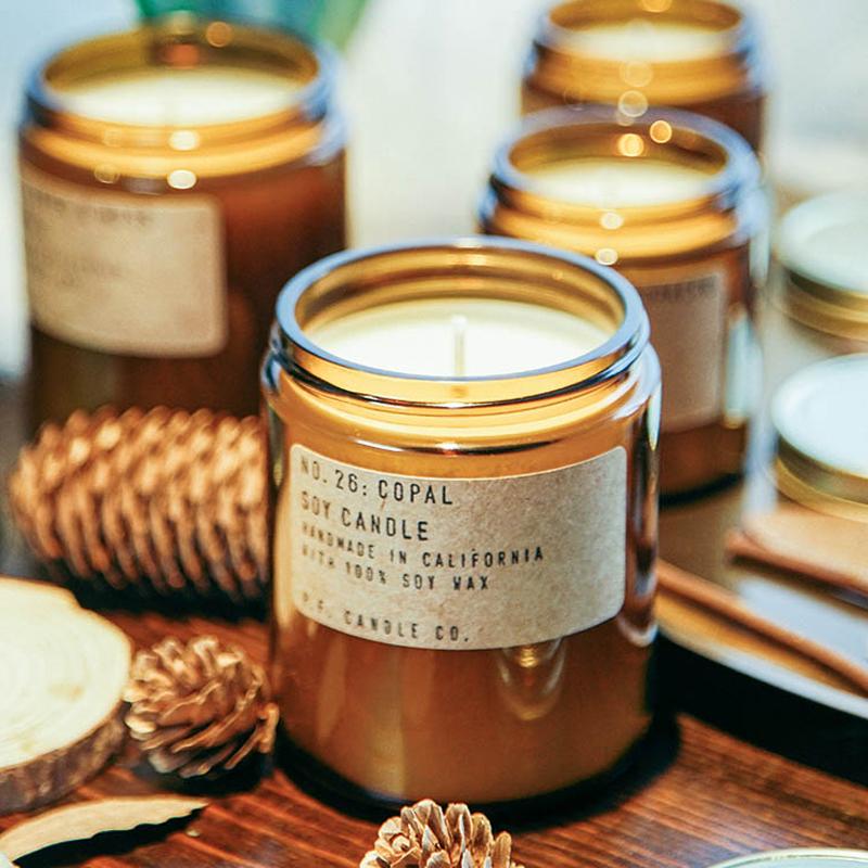 P.F. CANDLE Co.香薰蜡烛 安神助眠美国进口pf手工香氛香烛精油