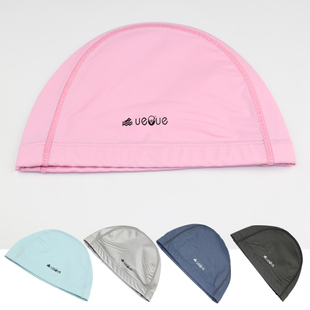 Authentic transport capacity cap breathable waterproof PU coating head Naples unisex hair long hair swimming cap