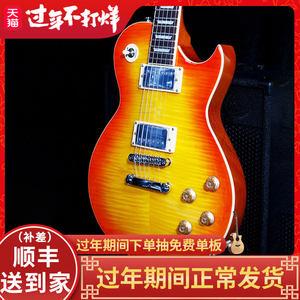 名森lp电吉他初学者经典LP吉他配音箱效果器套装电子吉他专业级