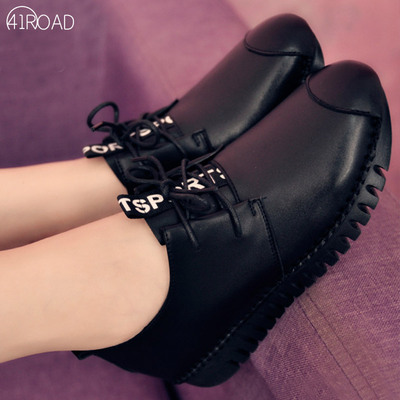 2021 spring and autumn new mother large size single shoes women 40-43 fashion thick-soled flat soft-soled casual women's shoes 41-43