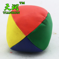 Four-color sand bag ball kindergarten pupils children small sandbags anti-pollution throw and thicken 50 grams of small sandbags