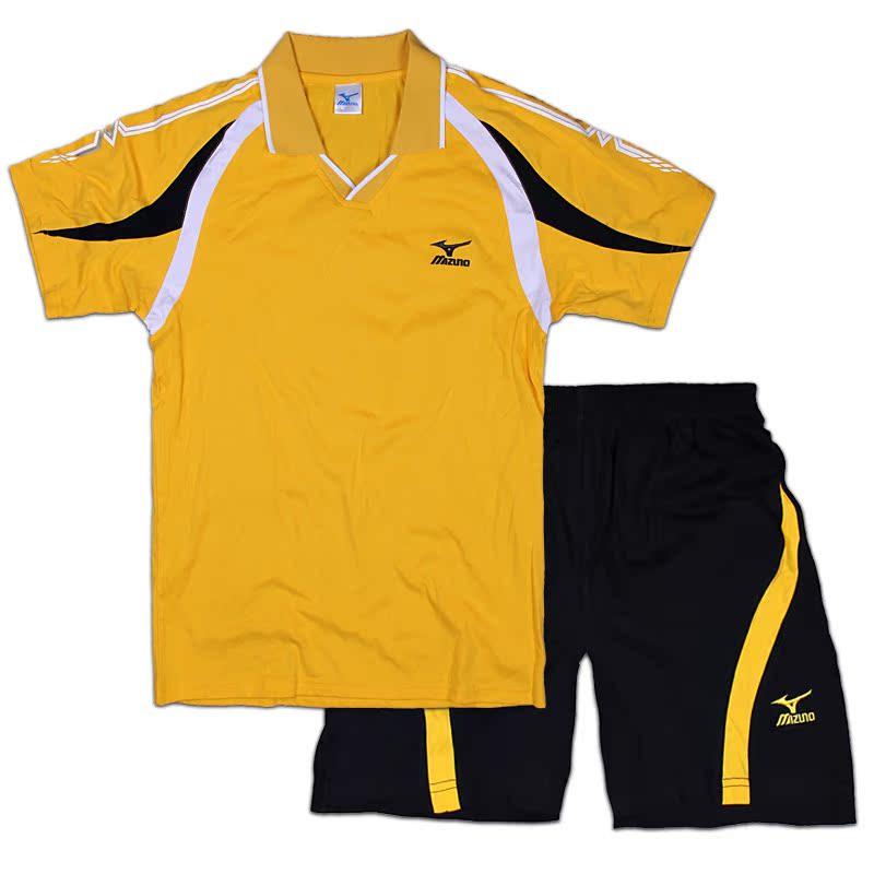 Мидзуно Хлопок одежда костюмы для мужчин и женщин Настольный теннис настольный теннис платье костюмы спортивные костюмы короткий рукав рубашки