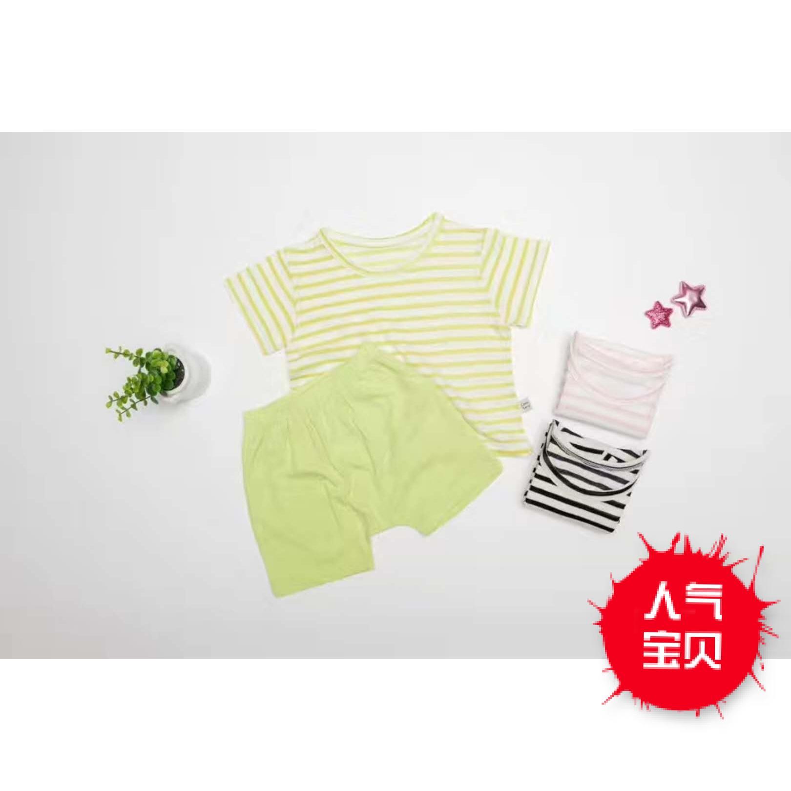 现货特价韩国 童装 套装体恤 2018夏季 1-5岁男女宝宝正品保证